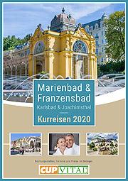CUP VITAL Kurreisen nach Tschechien 2020 - Marienbad, Franzensbad, Karlsbad, Joachimsthal