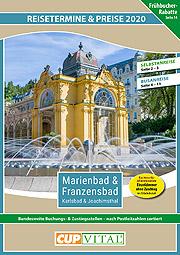 Preisbeileger - CUP VITAL Kurreisen 2020 - Marienbad, Franzensbad, Karlsbad, Joachimsthal